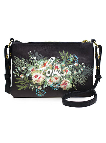 Papaya Art Beauty Bouquet Crossbody