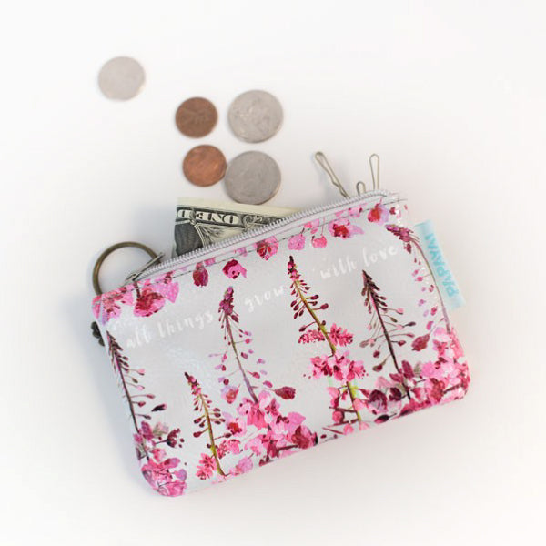 Papaya Art Blooms Coin Purse