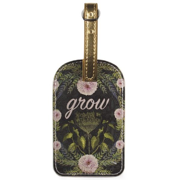 Papaya Art Grow Luggage Tag