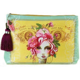 Papaya Art Rose Large Pouch