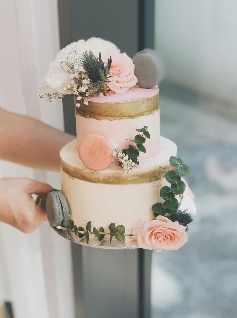 Belladonna Botanical 2 Tier Cake