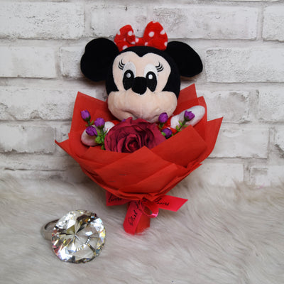 Minnie Mouse Round Bouquet (DFR01C)