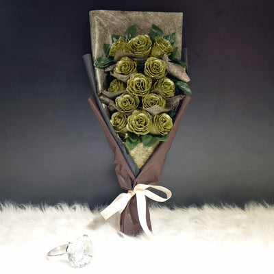 Glittering Roses Sided Bouquet (GRS05C)