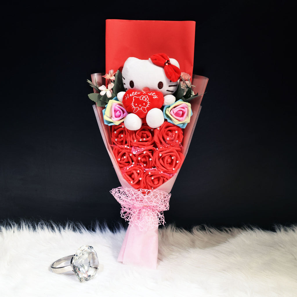 Hello Kitty Sided Bouquet (HKS03C)