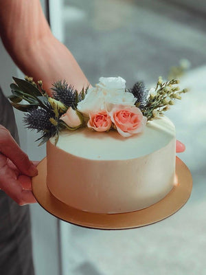 Heather Botanical Cake