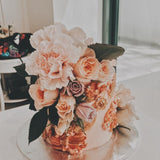 Moody Floral Cake