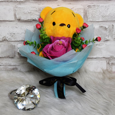 Pooh Family Round Bouquets (PFR14C)