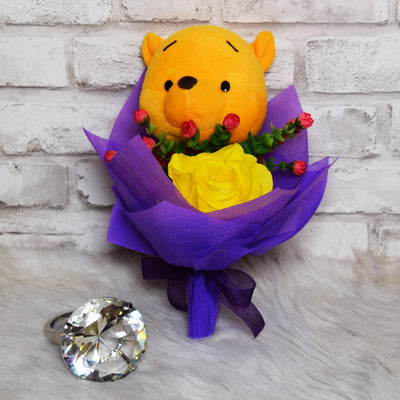 Pooh Family Round Bouquets (PFR16C)