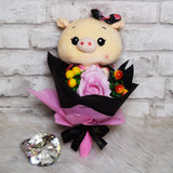 Piggy Round Bouquet (PGR03C)
