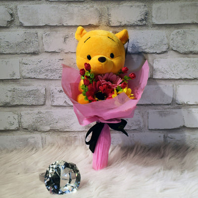 Pooh Family Round Bouquets (PFR06C)