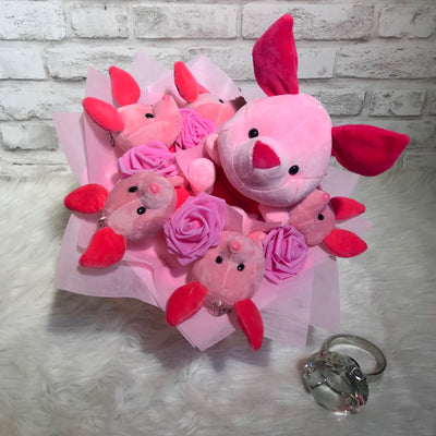 Pooh Family Round Bouquets (PFR04C)