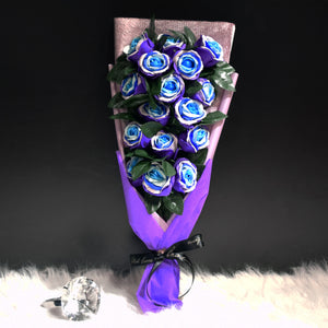 Soap Roses Sided Bouquet (SRS02C)