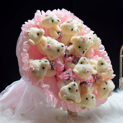 Bear Round Bouquet (BER04)