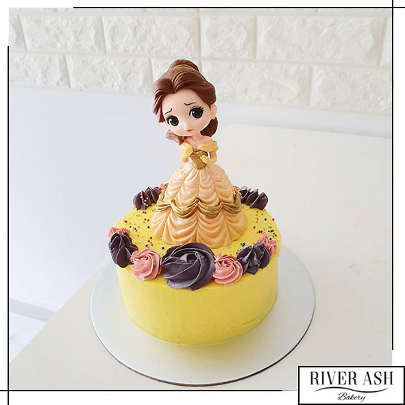 Yellow Princess Cake