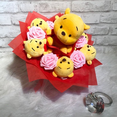Pooh Family Round Bouquet (PFR01C)