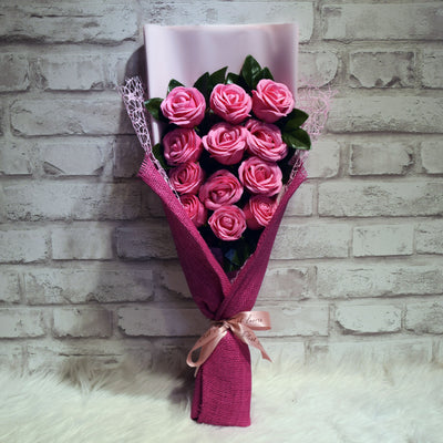 Soap Roses Sided Bouquet (SRS05C)