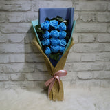 Soap Roses Sided Bouquet (SRS06C)