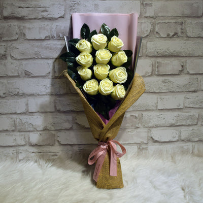 Soap Roses Sided Bouquet (SRS07C)