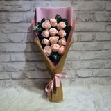 Soap Roses Sided Bouquet (SRS08C)