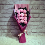 Soap Roses Sided Bouquet (SRS10C)