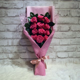 Soap Roses Sided Bouquet (SRS11C)