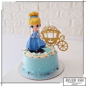 Blue Princess Cake