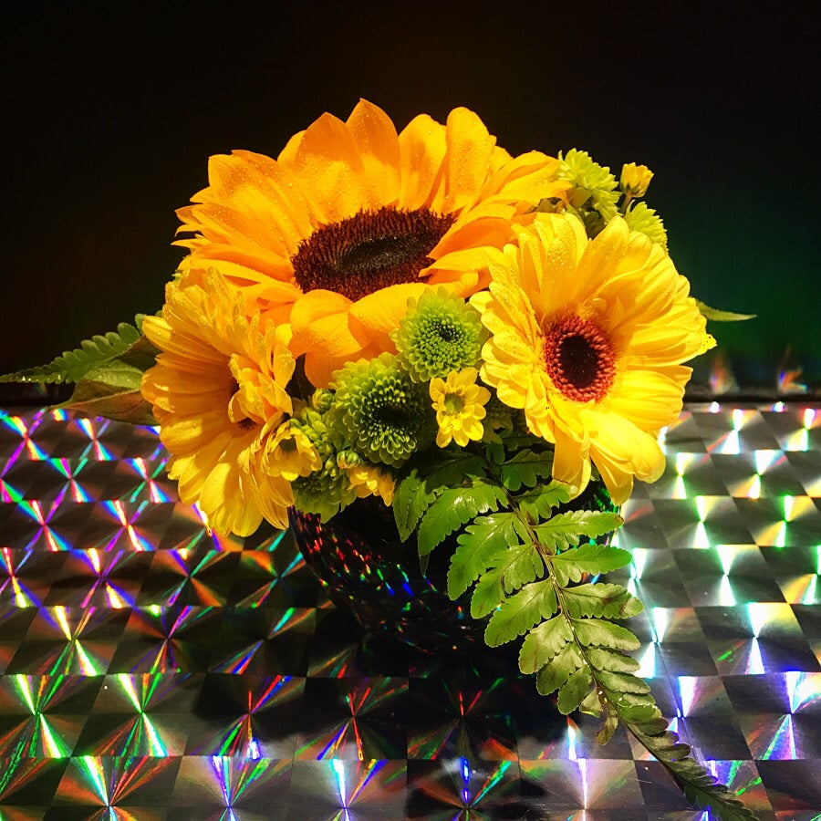 Sunflower Table Arrangement (TA011)