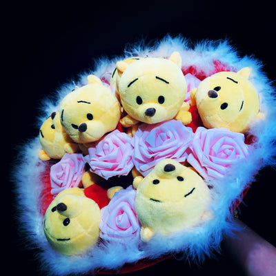 Pooh Family Round Bouquets (PFR02)