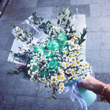Green Roses Bouquet