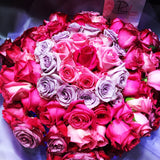 99 Roses with mixture of 5 Tones (FD011)