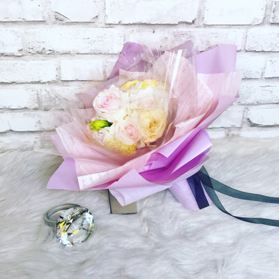 Roses with Eustoma (FD046)