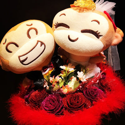 Monkey Wedding/Proposal Bouquet