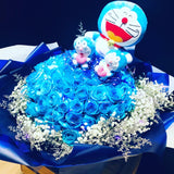 99 Roses with Plush Toys (FD078)