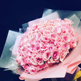 Lychee Pink Roses Bouquet (FD093)