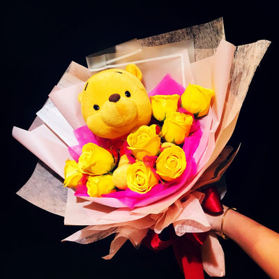 Pooh Family Bouquet (PFR03)