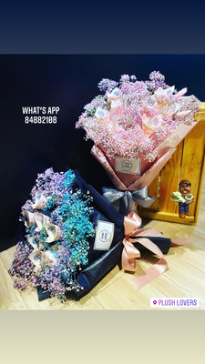 Money Babybreath Bouquet (FD