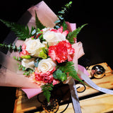 Mother's Day Roses and Carnations Bouquet (FD063)
