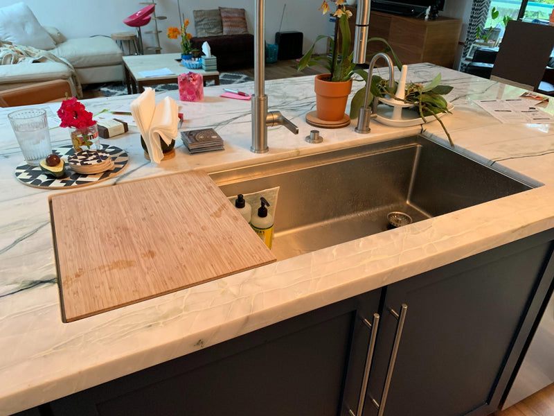 Large Two Compartment Sink