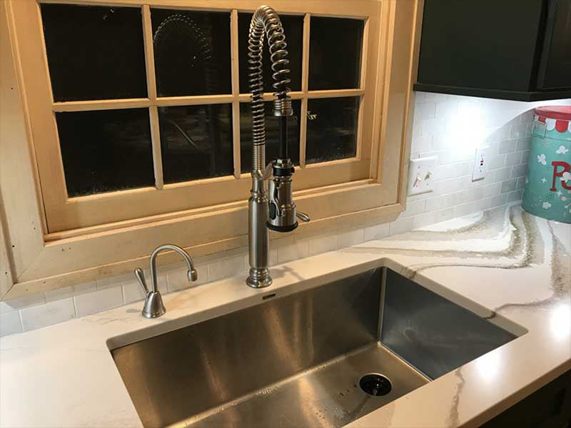 33inch sink with 10inch depth