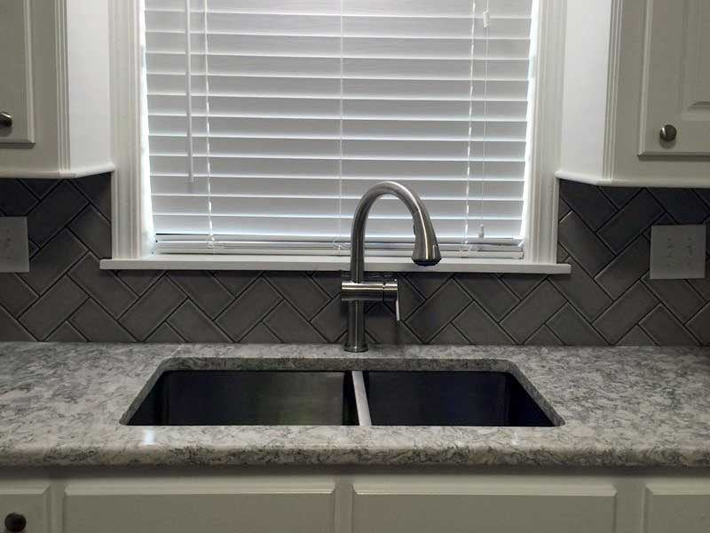 Double Basin 32 Inch Non Ledge Kitchen Sink