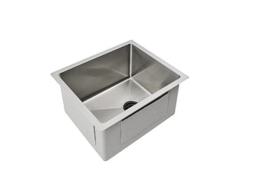 "15"" Prep Sink - Single Bowl - 1"" radius (1S15)"