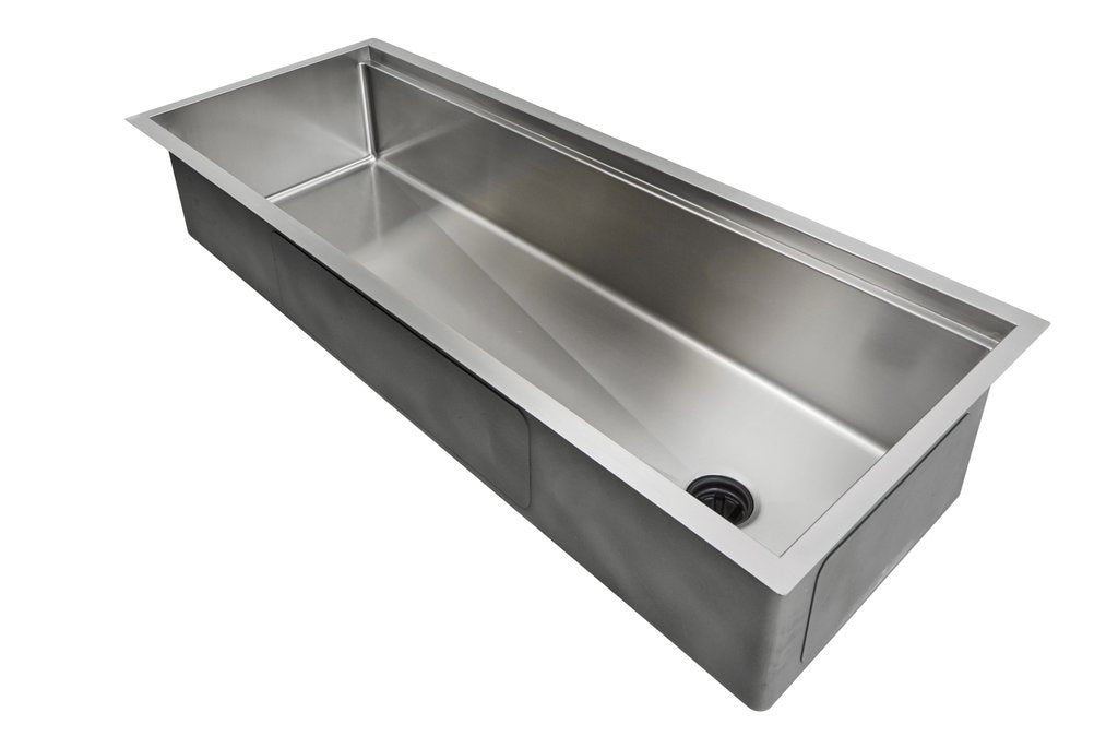 "46""  ledge sink - single bowl - reversible  - (5LS46c)"