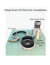 Create Good Sinks Deep Drain Kit Parts for Installation