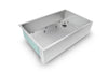 "GRID - 33"" stainless steel sink grid - right drain (GR-5AS33R)"