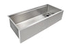 "46"" ledge sink - apron single bowl - right drain (5LAS46R)"