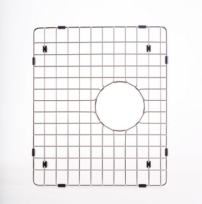 "GRID - 46"" double bowl - small bowl - stainless steel sink grid  (GR-5LD46cS)"
