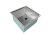 "19"" Ledge Undermount Stainless Steel bar sink"