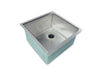 "19"" Ledge Undermount Sink Stainless Steel"