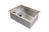 "26"" Ledge Sink Undermount Stainless Steel"