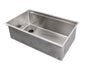 "31"" stainless steel ledge undermount sink"